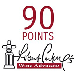 90 Points, Robert Parker - Wine Advocate